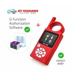 439.00$  Know more - http://aiwra.worlditems.win/all/product.php?id=32771552405 - Original Handy Baby Hand-held V8.0 Car Key Copy Auto Key Programmer for 4D/46/48 Chips Plus G Chip Copy Function Authorization