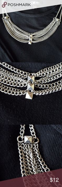 Silver Necklace so stunning Stunning Silver Necklace Jewelry Necklaces