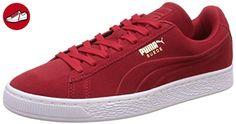 Puma Suede Unisex-Erwachsene Sneaker, Rosso (Barbados Cherry), 42.5 EU (8.5 UK) - Puma schuhe (*Partner-Link)