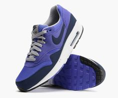 """The Nike Air Max 1 Essential is the latest Nike model rocking the """"Persian Violet"""" colorway. What are you thoughts?"""