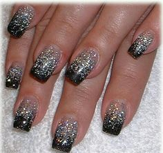 Black & Silver Faded French