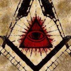Painting - Freemason Symbolism by Esoterica Art Agency , Canvas Prints, Framed Prints, Art Prints, Masonic Art, Media Lies, Freemason, Occult, Art Boards, Wall Tapestry