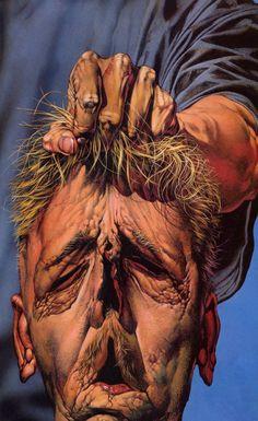 A cover gallery for the comic book Preacher Alex Pardee, Fabian Perez, Bill Ward, Dante Gabriel Rossetti, Hieronymus Bosch, Arte Horror, Horror Art, Horror Pics, Creepy Horror