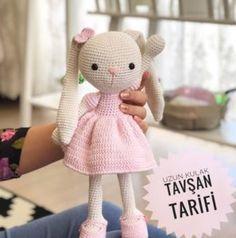 Crochet Doll Pattern, Crochet Dolls, Crochet Hats, Crochet Bebe, Crochet For Kids, Montessori Baby, Baby Knitting Patterns, Girl Gifts, Free Pattern