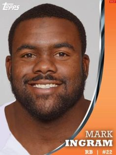 TOPPS-HUDDLE-GAME-DAY-BOOST-MARK-INGRAM-NEW-ORLEANS-SAINTS-ONLY-44-EXIST