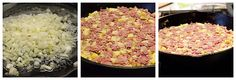 Corned Beef Hash - cooking away!