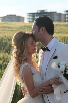 Hochzeit auf dem Feld