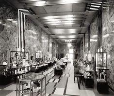 The Perfume Hall of the Bullocks Wilshire department store on Wilshire Boulevard