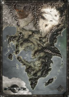 KHORGHIL FANTASY MAP by *Khorghil on deviantART : Part of dA's mythical cartography feature.