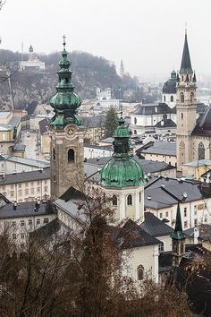Salzburg, Austria - Was there on a cold winter day just like this one!