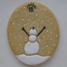 """My entry for Day 18 on """"CookieConnection"""". Come sign in and look at all the beautiful cookie talent from around the world. You don't have to do anything but look and enjoy. As a member you can comment & click the """"like"""" button. cookieconnection.juliausher.com"""