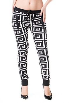 Lili's Couture Fashion Multicolored Square Printed Plus Size Joggers J-63X-2X/3XBkb *** Click on the image for additional details. #WomensLeggings Plus Size Joggers, Jogger Pants, Modern Fashion, Women's Leggings, Fashion Prints, Couture Fashion, Pajama Pants, Boutique, Printed