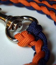 Make a dog leash. I instantly thought of you, @Jaime Justice.