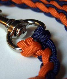 Stormdrane's Blog: Braided Paracord Dog Leash
