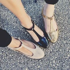 T-Strap Shoesday.