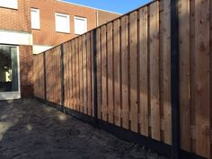 Backyard Fences, Garden Fencing, Backyard Projects, Backyard Landscaping, Wood Fence Design, Privacy Fence Designs, Plank, Landscape Design, New Homes