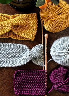 HOLY HEAD BAND - Knitting for beginners,Knitting patterns,Knitting projects,Knitting cowl,Knitting blanket Easy Knitting Projects, Knitting For Beginners, Crochet Projects, Knitting Ideas, Knitting Patterns Free, Free Knitting, Crochet Patterns, Knitting Needles, Easy Patterns