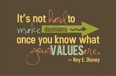 "Understanding core values helps accelerate success and create ""smarter"" goals"