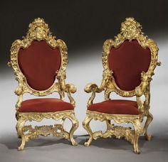 """Мебель в стиле"""" Grotto"""" 17-20 век  Морские обитатели- раковины, кораллы, дельфины, морские коньки и другие морские создания- декоративные элементы этой мебели. Начали…"""