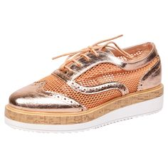 165362fad57 Womens shoes ladies brogues creepers platform chunky oxfords lace up flats  new