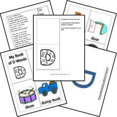 Preschool Letter Alphabet Lap n Note