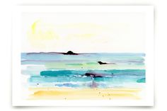 Rocky Beach Art Prints by Lindsay Megahed at minted.com
