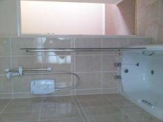 Bathroom and shower in Maxwelton Holiday Cottage, Porlock Bathtub, Cottage, Shower, Bathroom, Holiday, Standing Bath, Bath Room, Bath Tub, Casa De Campo
