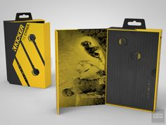 Kicker headphone packaging design, Over-The-Ear Stereo Headphone, headphone,LifeStyleDesign