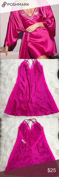 SALE VS Large Pink Slip Unlined Victoria's Secret Intimates & Sleepwear Chemises & Slips