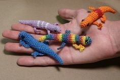 Love these tiny lizards!