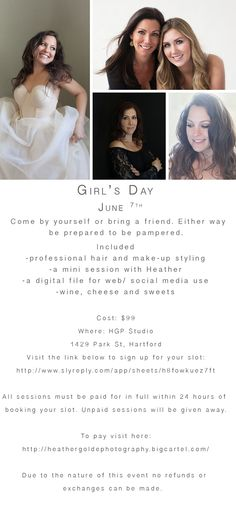 Girl's Day! – Hartford Glamour and Boudior Photography