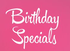 My Birthday SUPER Specials  Dr Don Yates Sr Phd Just now ·  Only a few days left to take advantage of my marketing specials