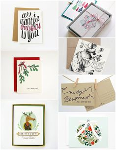 Etsy Finds #81. Christmas cards