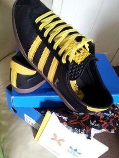 Si ripropone di rara design originale 3 cosiddetta bande adidas scherma scarpe fatte in francia