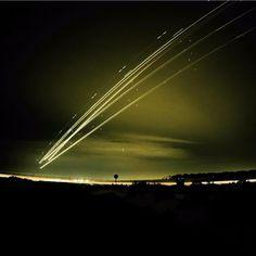 airplane take off at night - Google Search