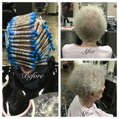 Basic perm wrap using Extra Body with H.K.P and Blue Rods