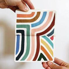 Amy Bramante Artist Creative Artfully Living // color color scheme art ins Kunst Inspo, Art Inspo, Arte Sketchbook, Guache, Grafik Design, Watercolor Art, Watercolor Journal, Doodles, Design Art