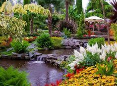 The Flor and Fjære Gardens, Hidle Island, Stavanger, Norway