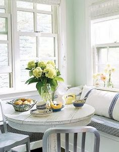 I LOVE the fabric!  Plus the color scheme would go with my Polish Pottery collection.
