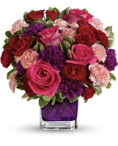 Bejeweled Beauty by Teleflora Flowers, Bejeweled Beauty by Teleflora Flower Bouquet - Teleflora.com