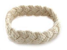 Sailor Knot Bracelet Tan