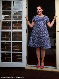 Up Sew Late's Starry Starry Gabby Dress