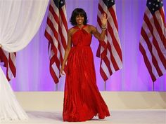 Once again, Michelle Obama dazzles in inaugural gown by Jason Wu - The Look