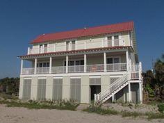 Edisto Realty - Edistoaway II - Beautiful Beach Front Home - Edisto Island, SC