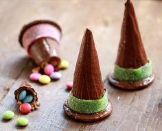 Sombreros de bruja con sorpresa para halloween
