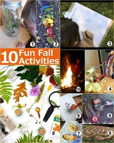10 Fun Fall Activities in Your Backyard - Pinned by @PediaStaff – Please Visit  ht.ly/63sNt for all our pediatric therapy pins