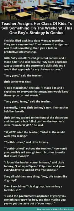 Teacher Is Shocked When One Of Her Students Says This. funny jokes story lol funny quote funny quotes funny sayings joke humor stories funny kids funny jokes. OMG I love this kid! Funny Texts, Funny Jokes, Funny Sayings, Smart Jokes, Joke Stories, Funny Kids Stories, Haha, Funny Pins, Funny Stuff