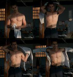 """Theo James is Four aka Tobias Eaton in """"Divergent"""""""