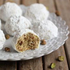 Pistachio Snowball Cookies - Go Bold with Butter