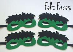 Incredible Hulk Party Masks, Incredible Hulk Party Favors